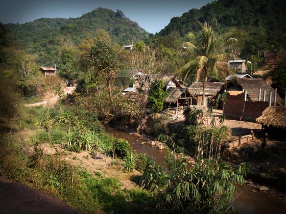 деревня яо в луангнамте