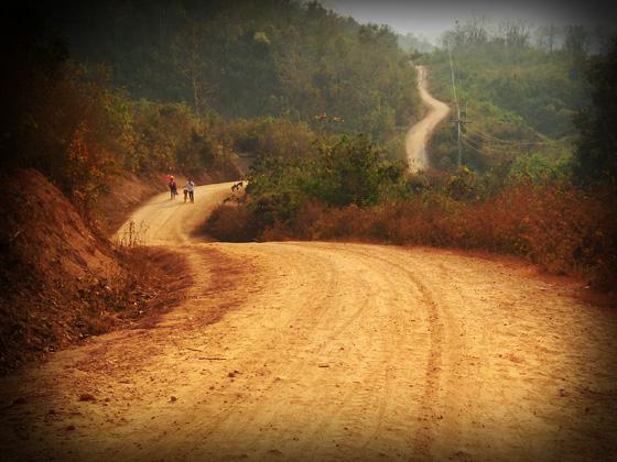 окрестности луанг-прабанга