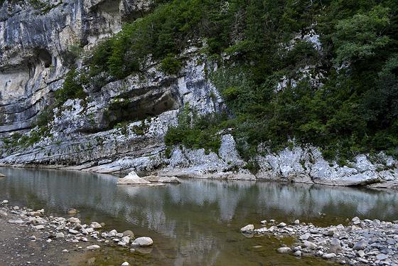 река под монастырём моцамета