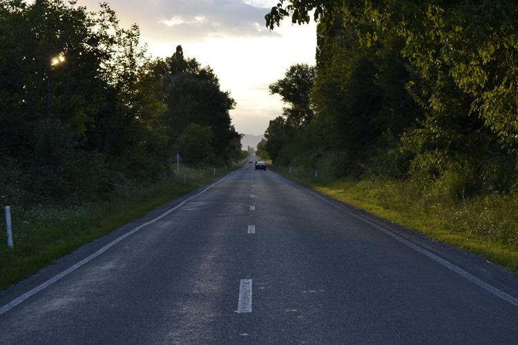 дорога в кахети