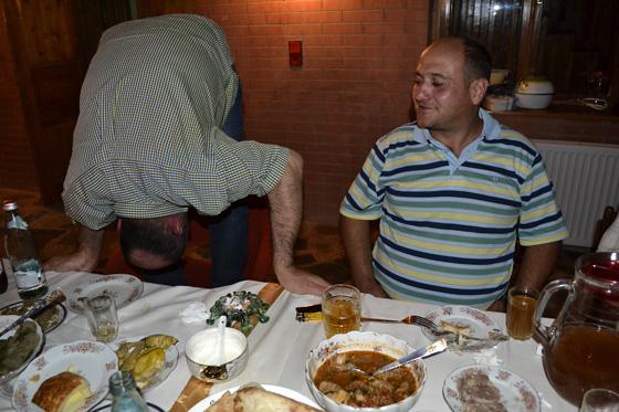 традиции застолья в грузии
