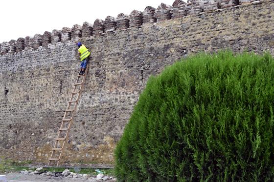 Стена крепости Батонисцихе