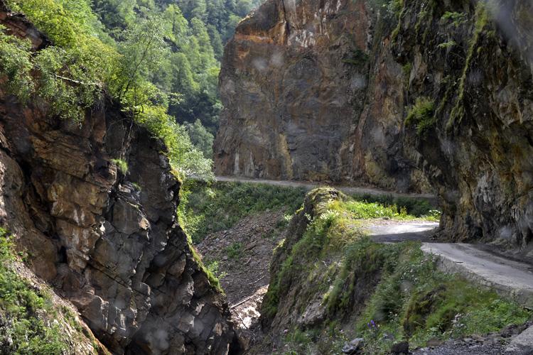 дорога в Тушети