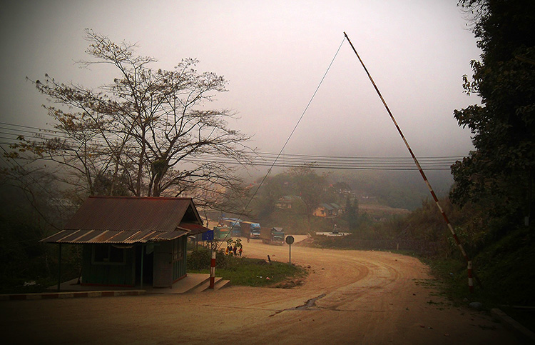 граница лаоса и вьетнама