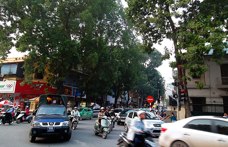 ханойские улицы