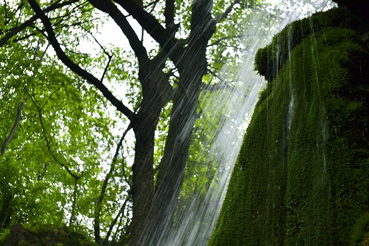 водопад у бачковского монастыря