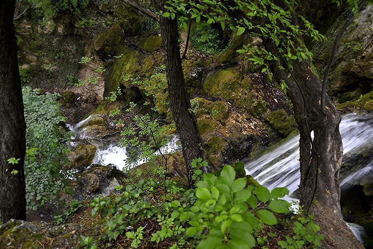 водопад у бачково