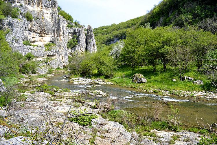каньон на реке негованка