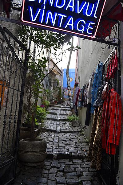 переулок в бейоглу