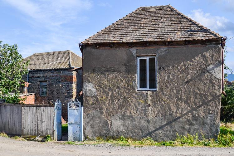 старинный грузинский дом