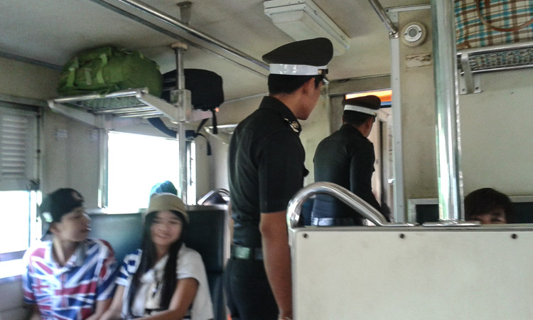 Поезд Хуахин - Бангкок