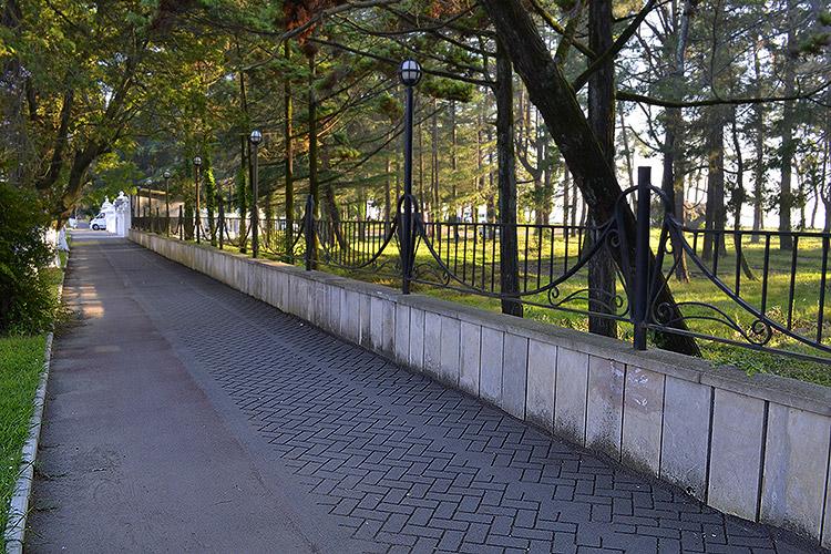 парк в кобулети