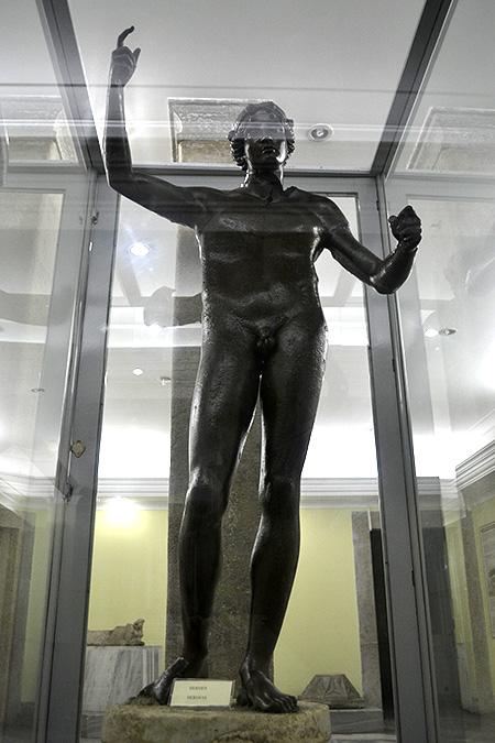Статуя Гермеса, Трабзон