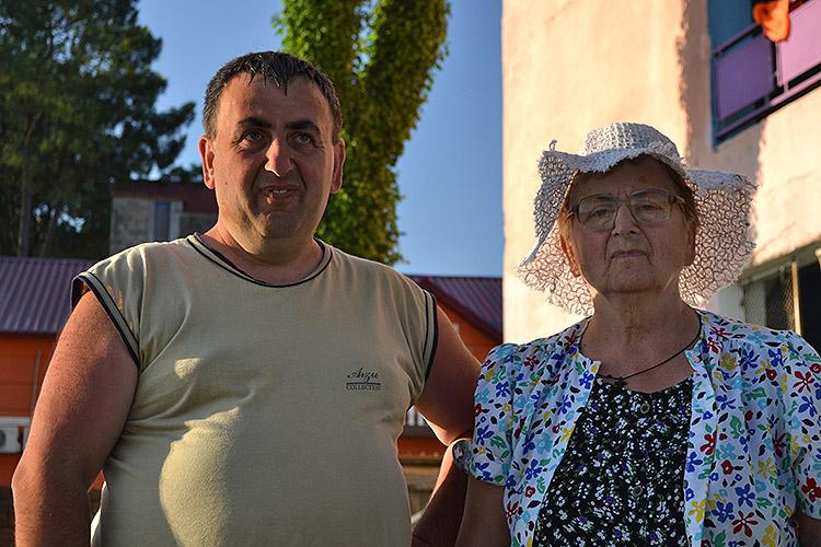 грузинские туристы