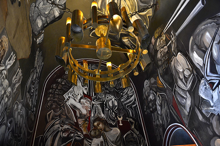 фрески в царевце