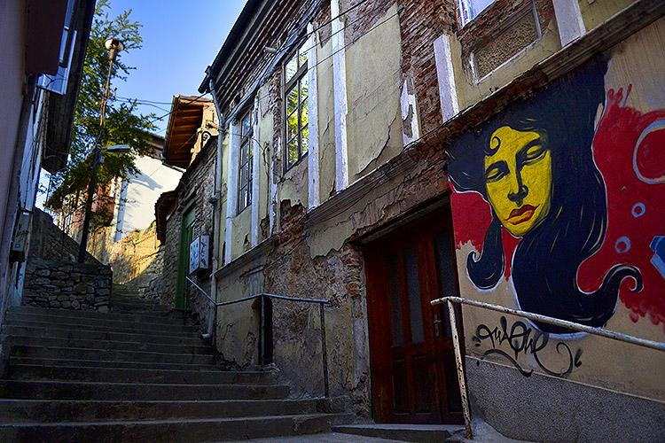 граффити в Велико-Тырново
