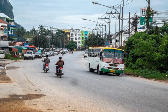 Автобус, Ао Нанг