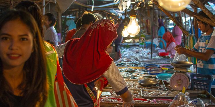Рынок в Ао-Нанге