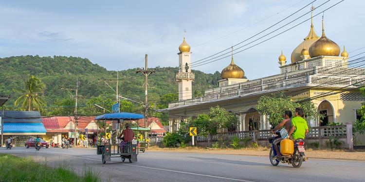 Мечеть, Ао-Нанг, Таиланд