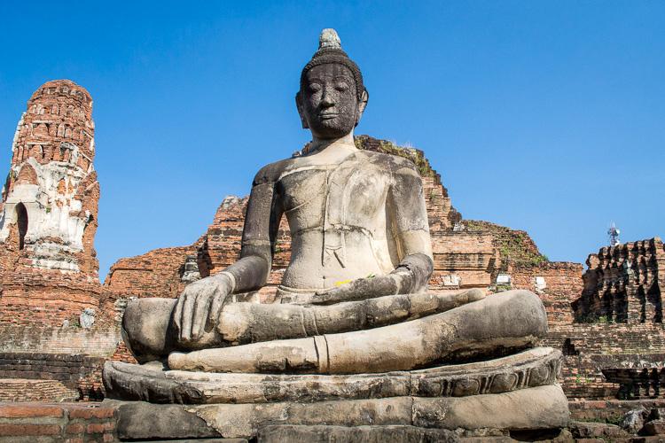Статуя Будды, Wat Mahathat