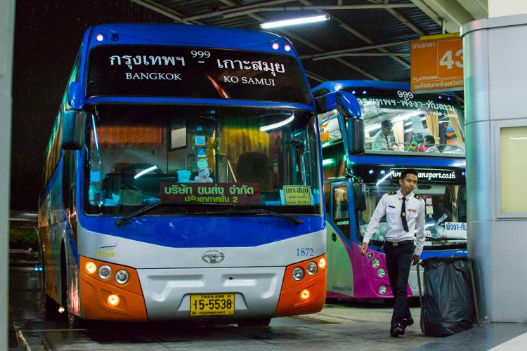 Автобус Бангкок - Самуи