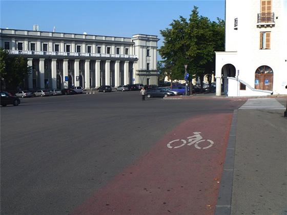 Велосипедные дорожки в Телави