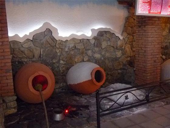 Мухей вина в Кахетии