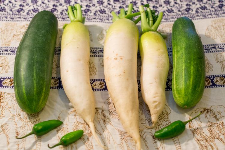 овощи в катманду