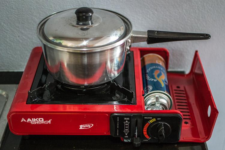 плита переносная газовая
