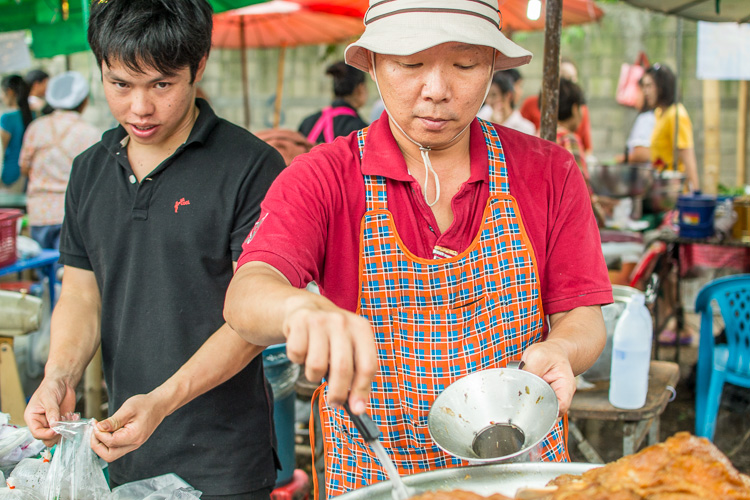 Тайский рынок