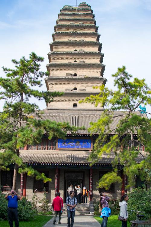 Малая гусиная пагода