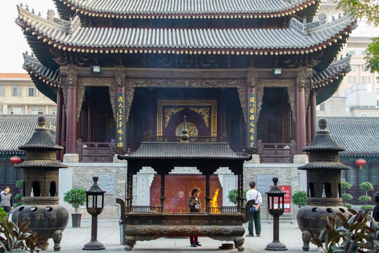 китайский храм в Сиане