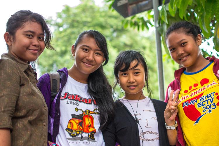 Индонезийские девочки