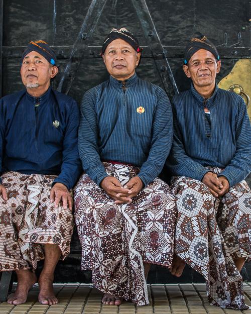 Яванцы в традиционной одежде