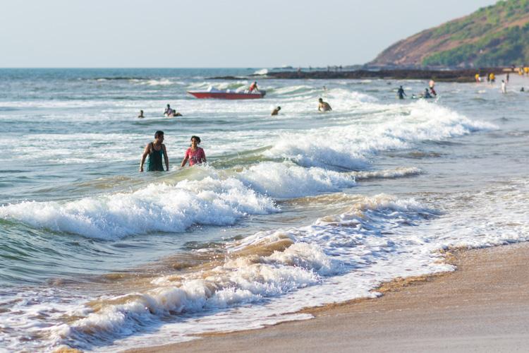 Анджуна, пляжи