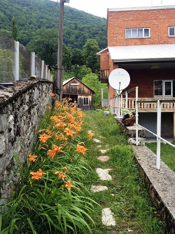 гестхаус в кинчхе, грузия