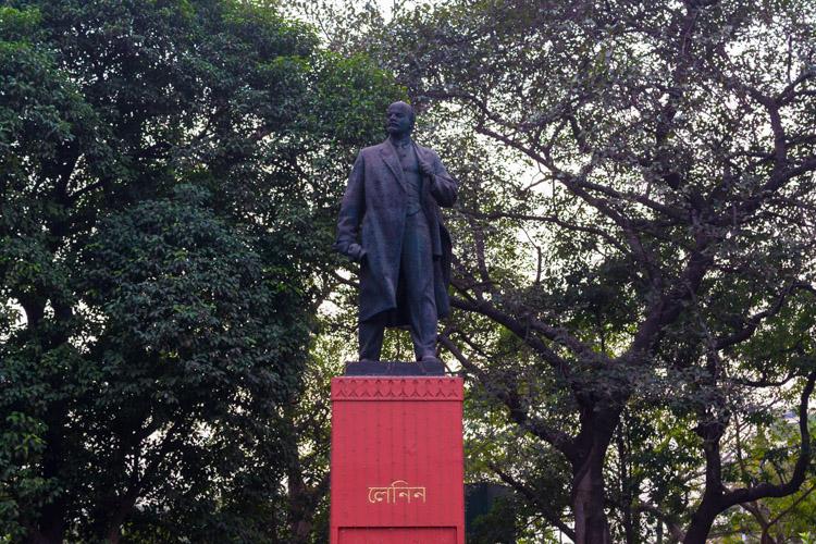 Памятник Ленину в Калькутте