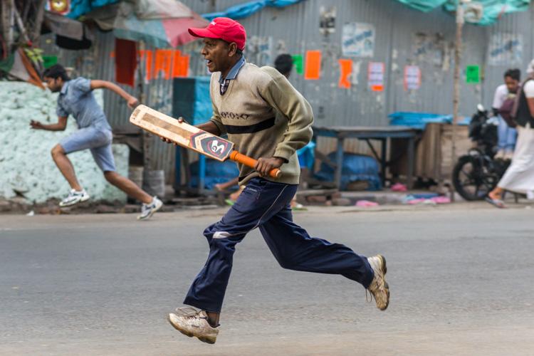 Крикет на улицах Калькутты