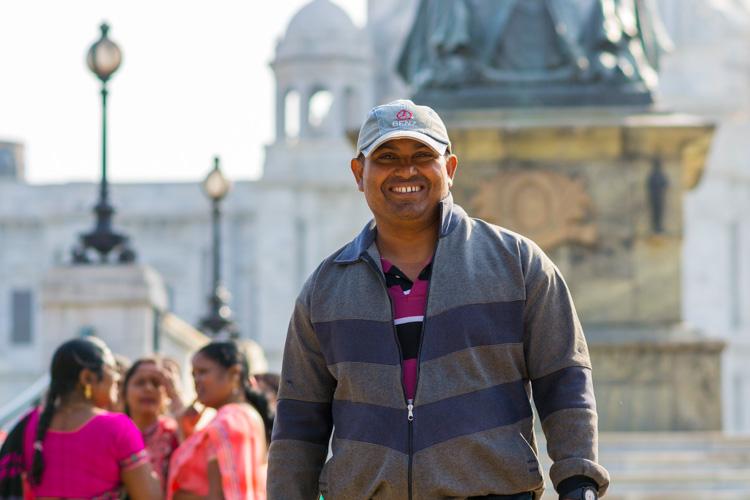 Жители Калькутты
