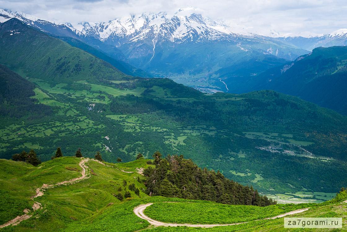 Прогулка в горы из Местии