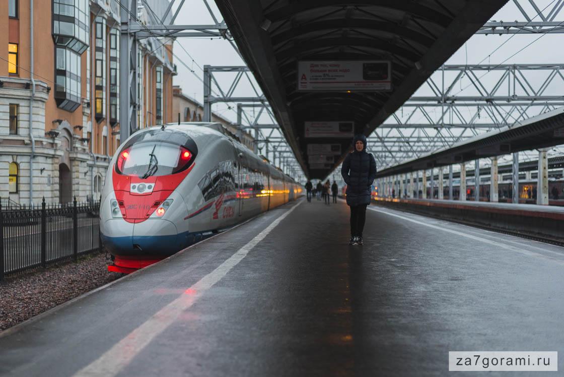 Из Москвы в Петербург
