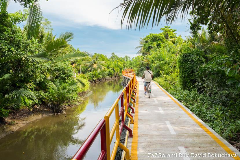 На велосипеде по Бангкоку