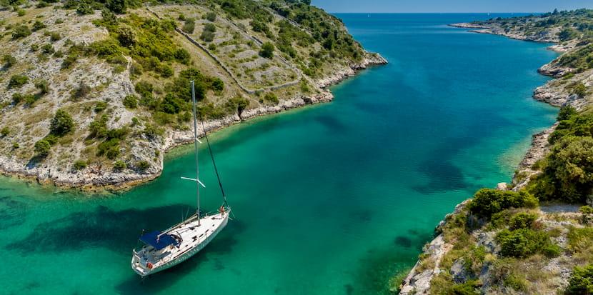 На яхте в Хорватию