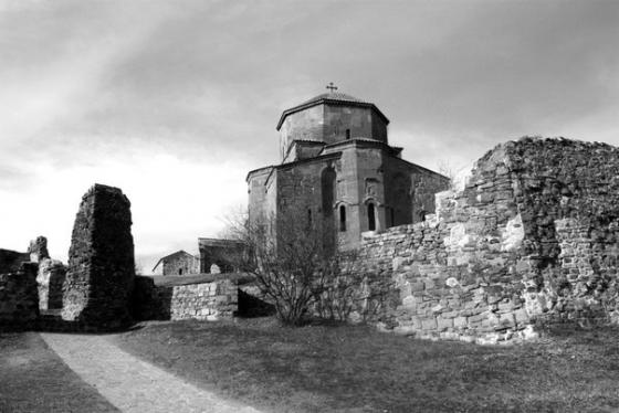 Монастырь Джвари зимой