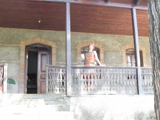 Кварели. Дом - музей Ильи Чавчавадзе