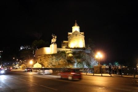 кусочек ночного Тбилиси