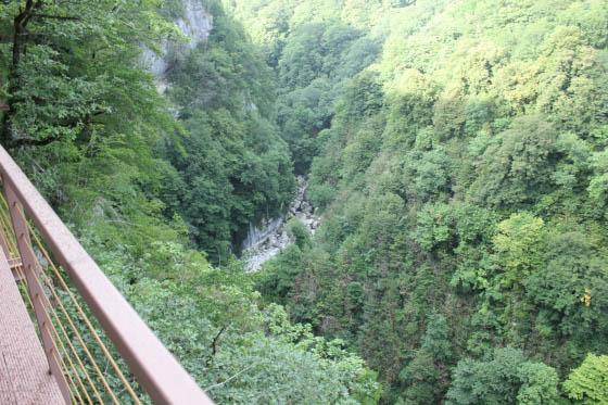 Горди - каньон Окаце (фото)