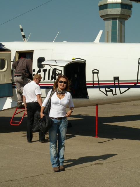 самолёт тбилиси - местия