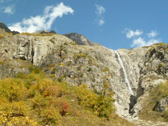 водопады сванетии