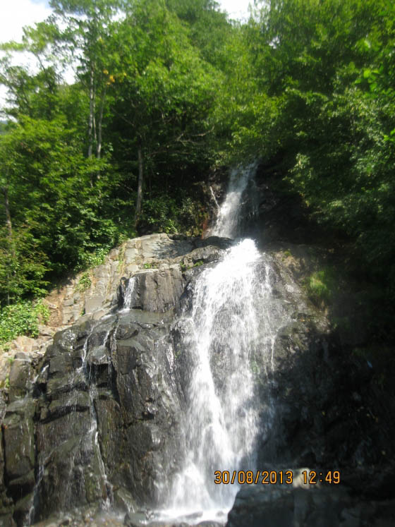водопад в сванетии